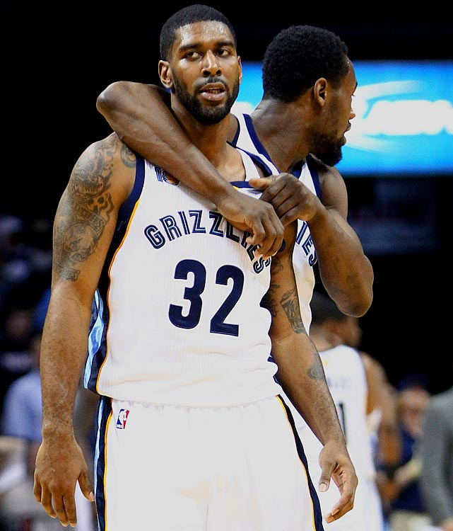 Fellow Grizzlies shooting guards OJ Mayo and Tony Allen got into a physical altercation on the team plane over a card game gone wrong.  Mayo left the plane with a black eye, Allen with sore knuckles, and both with some explaining to do.