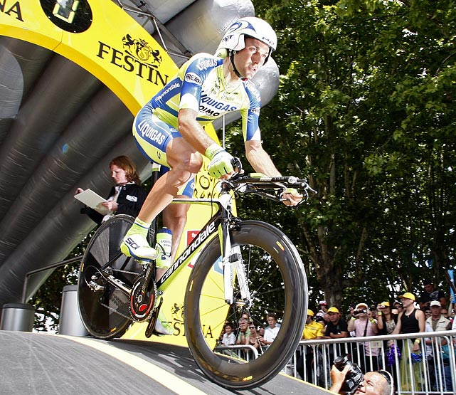 Ivan Basso won his native country's tour, the Giro d'Italia, twice (2006, 2010), but this year he decided to pass up defending his title in order to prepare for the Tour de France. He will lead team Liquigas-Cannondale. Basso has not placed in the top three of the Tour de France since 2005.