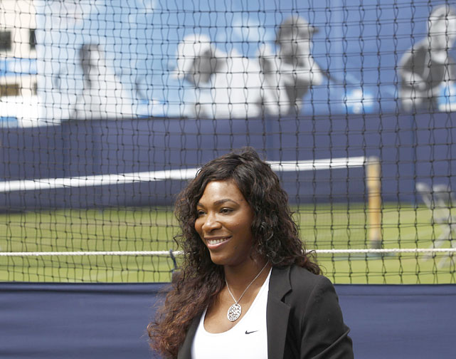 Remarkably, British oddsmaker William Hill lists Serena as the second favorite to win Wimbledon, which begins June 20, after Maria Sharapova.