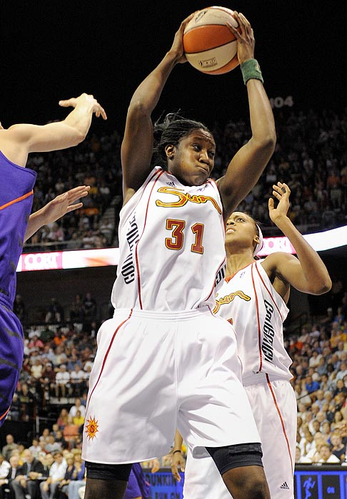Charles, the No. 1 overall pick in the 2010 draft, had no trouble adjusting to the WNBA game. She set WNBA single-season records for rebounds and double-doubles, led the league in rebounding and ranked second in blocks. The challenge now? Repeating the exquisite performance and leading the Sun back to the postseason for the first time since 2008.
