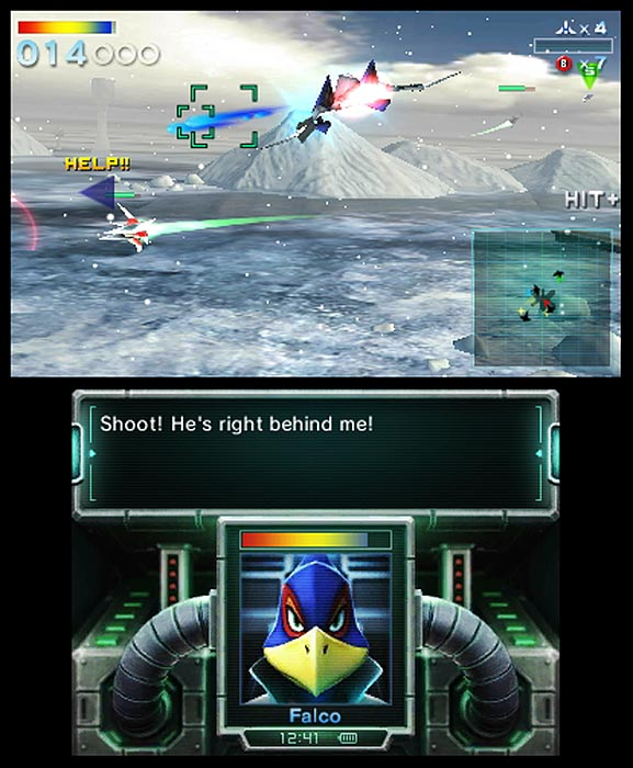 The sixth installment in the long-running Star Fox series allows players back into the cockpit of Fox McCloud and his squadron of fighter pilots as they fight the evil Andross to save the galaxy from destruction. Users can play with the Nintendo 3DS' built-in Gyro Sensor -- steering the ship by physically moving the console -- or with the original Nintendo 64 controls. The action space shooter brings back familiar faces and features from previous games, while adding a new multiplayer option that enables up to four players to battle against one another via a local wireless connection. The coolest part: the system's inner camera can display live video feeds of your opponents' faces on everyone's screen.  Star Fox is scheduled for a September 11 release on the 3DS.