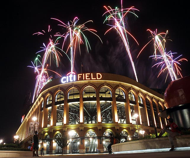 The New York Mets lost to the Philadelphia Phillies 7-2 on July 15 but their fans we're treated to a memorable fireworks show after the game. The Citi Field fireworks are known as some of the best in baseball.