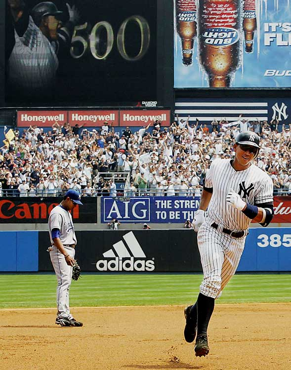 "Graduate student -- and Yankees season ticket holder -- Walter ""Sonny"" Kowalczyk caught Rodriguez's 500th home run. After initially being unsure about what to do with the ball, Kowalczyk sold it in 2010 for $103,579."