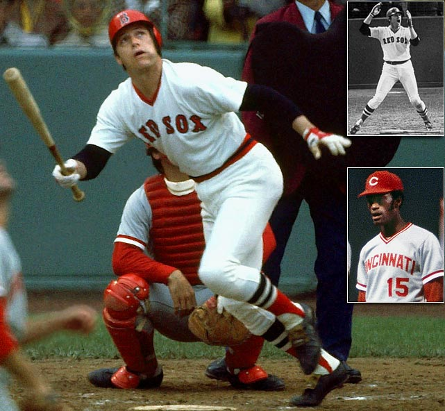 One of the most famous home runs of all time, Carlton Fisk's blast gave the Red Sox the win in Game 6 of the World Series. Unbeknownst at the time, when the Reds took Game 7 to win the title, George Foster had two reasons for celebrating. Why? In 1999, Foster would come forward and say that he had the ball that Fisk had hit. The ball sold for $113,000 at auction.