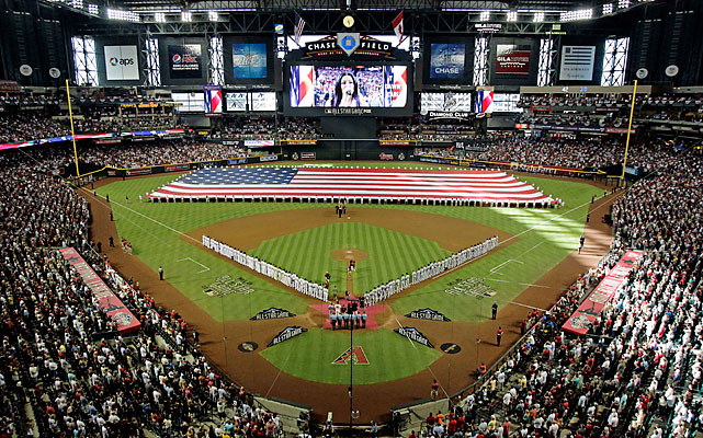 Arizona hosted the All-Star Game for the first time, leaving Florida and Tampa Bay as the only franchises yet to host the Midsummer Classic.
