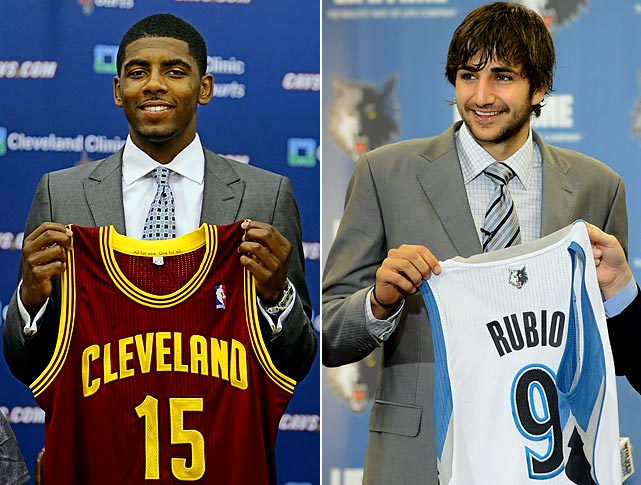 While both of these teams should struggle next year, the matchup between two new, high-profile point guards will be telling. Kyrie Irving and Ricky Rubio are either the future of the league, or overhyped small guards, depending on who you listen to.