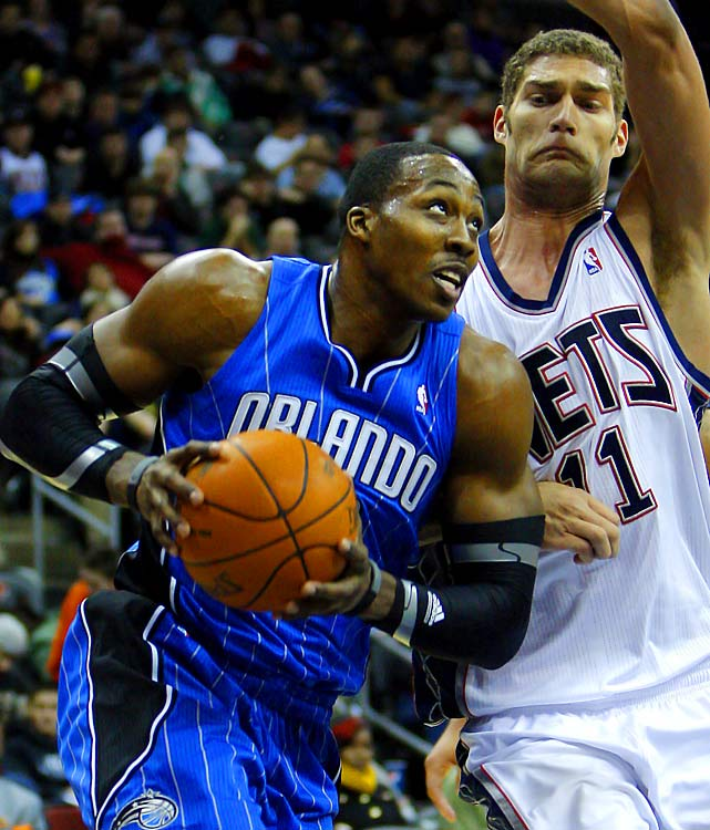 Like Paul, Magic center Dwight Howard could also be on the move as a free agent in 2012. With a solid core already and a star point guard in Deron Williams, the Nets are serious contenders to land the gregarious center if he decides to leave.