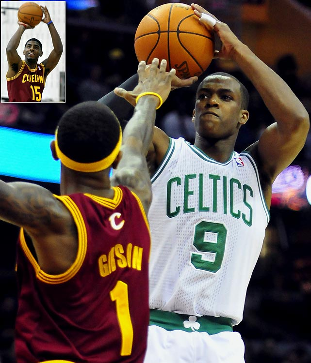 Kyrie Irving, the first overall pick in this year's draft, will face a tough matchup in his pro debut: Rajon Rondo and the Celtics. The Cavs' young point guard will likely get a rude awakening against one of the league's best defenses.
