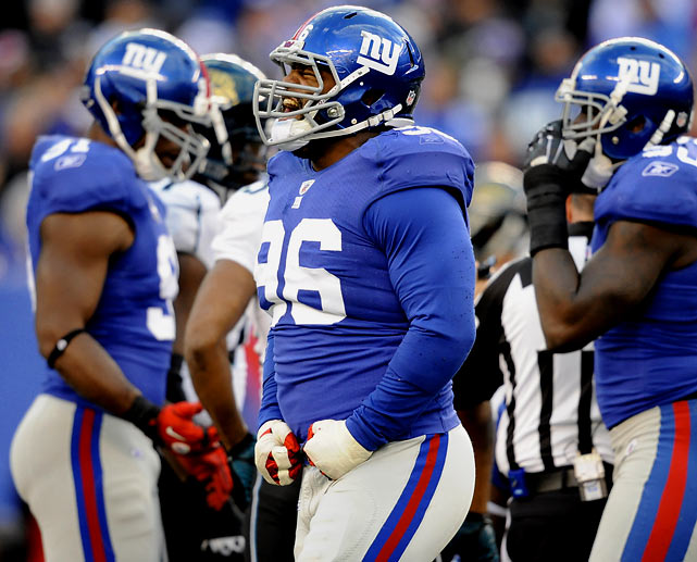 Often overlooked behind more outspoken players such as Michael Strahan and Osi Umenyiora on the Giants' defensive line, nose tackle Barry Cofield has quietly pieced together an impressive career. Now, he'll look to carve his own legacy for archrival Washington. He agreed to terms with the Redskins on Tuesday, and will plan to step in as Haynesworth's replacement following his trade to New England. The former Northwestern Wildcat has accumulated 154 tackles and 10.5 sacks in his six-year career.