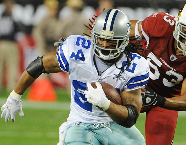After six seasons with the Cowboys, Marion Barber agreed to a two-year deal with the Chicago Bears. Barber rushed for 4,358 yards and 47 touchdowns during his tenure in Dallas and looks to boost the Bears' ground attack. The 5' 11' running back also hauled in 1,280 receiving yards as a member of the Cowboys.