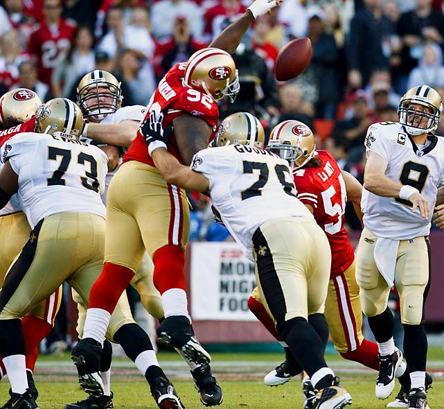 Franklin came to the 49ers in 2007 and would be playing under his third head coach in Jim Harbaugh this season if he were to remain in San Francisco. Entering his ninth year in the league, the defensive tackle may be looking to go where there's a little more consistency.