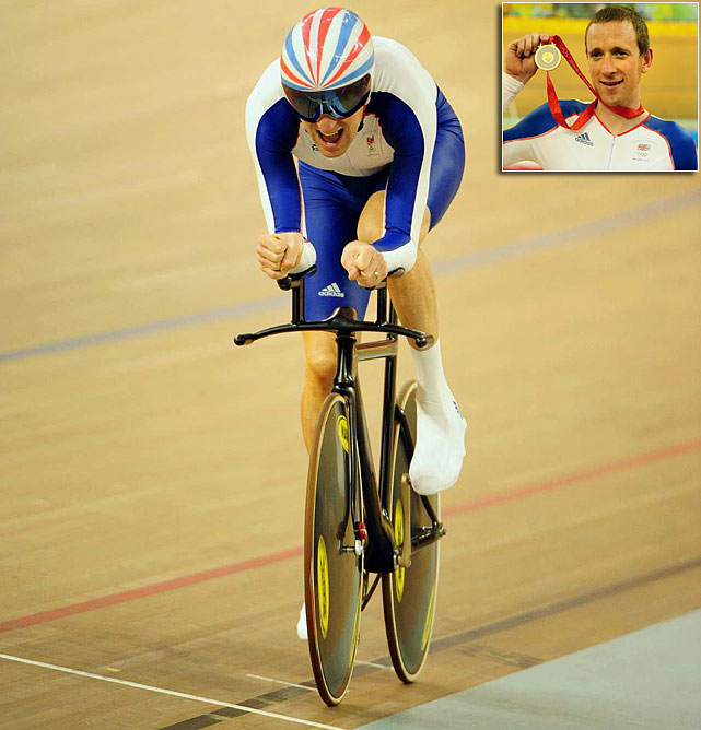 The British racer has won three gold medals and six Olympic medals overall during his exceptional career. In the 2008 Olympics, Wiggins won gold in both the team pursuit and 4km individual pursuit, though the latter is no longer an Olympic event.