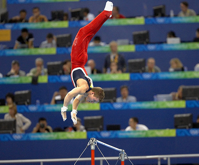 Horton led Team USA to a bronze medal in the 2008 Olympics, winning the silver medal for himself in the high bar. A two-time national all-around champion, the USA's top gymnast will defend his title at the Visa Championships in August.