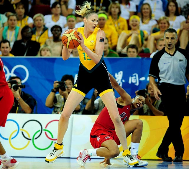 Jackson is a three-time WNBA MVP and 2010 Finals MVP who plays for the Seattle Storm. She was the youngest player to score 3,000 and 4,000 points in WNBA history. With the exception of the 1992 Olympics, the U.S. team has dominated the Olympics since 1984. Australia has challenged them for the last three tournaments, Jackson playing in each championship game. 2012 will be her fourth Olympic tournament. Will it be her final?