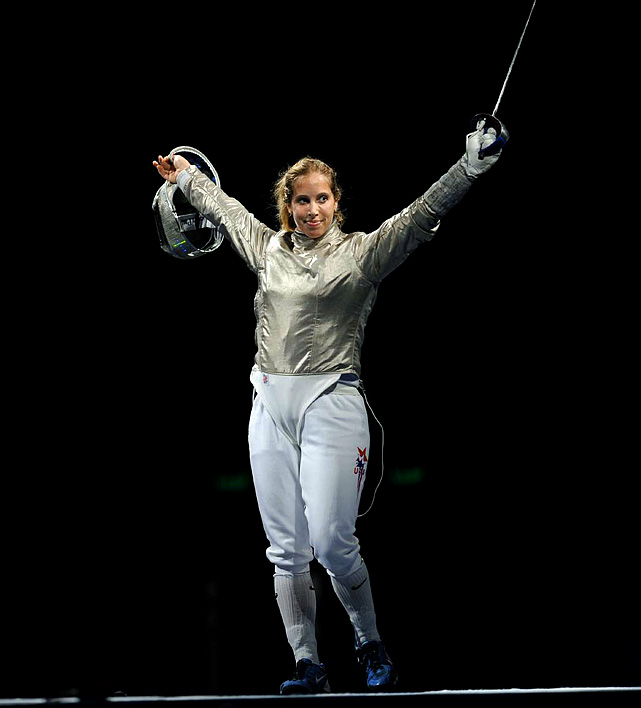 The Notre Dame product has won back-to-back gold medals in the individual sabre for the United States. Zagunis won the 2010 World Championships and is the odds-on favorite to take the individual title in London.