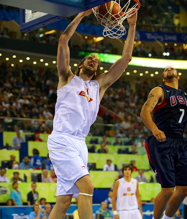 Gasol led Spain to its second silver medal in Olympic basketball history in 2008 when Spain fell to the United States in the finals 118-107. He'll likely go up against Laker teammate Kobe Bryant at the 2012 Games.