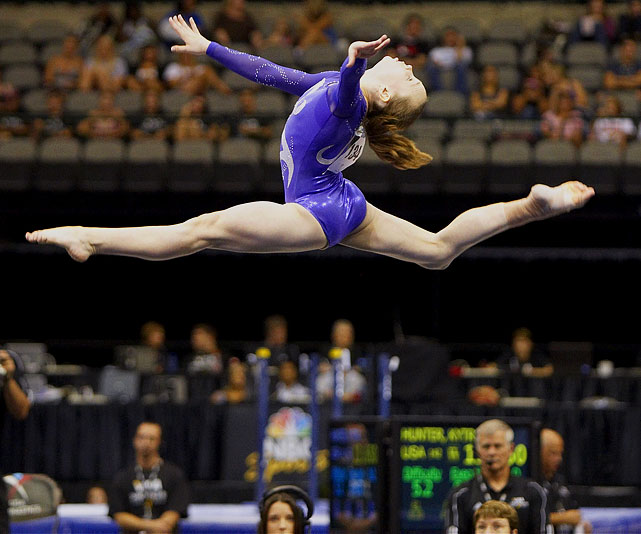 Having finished third and second in the all-around at the 2010 and 2009 World Championships, respectively, Bross will likely be the cornerstone of the United States' women's gymnastics team.