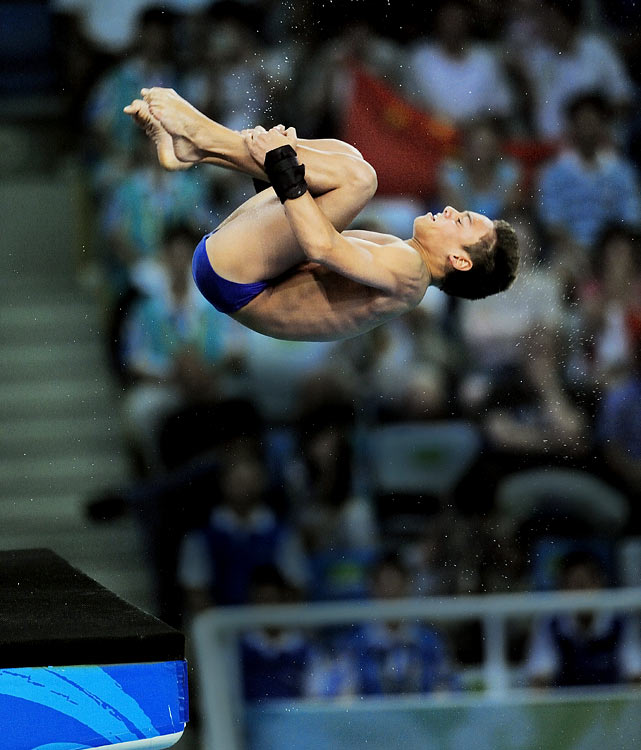 Daley finished seventh in the 10-meter platform at the 2008 Summer Olympics when he was 14 years old. Since then, he's won the FINA Championship for the 10-meter platform and is preparing for a run in his home country. Daley faced tragedy in May when his father lost a five-year battle with cancer.