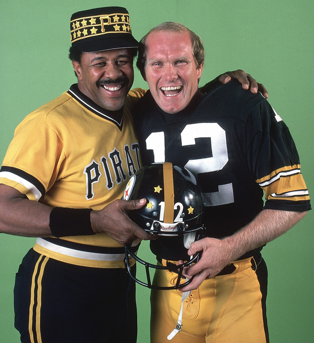 In 1979, SI named Pittsburgh superstars Stargell and Steelers quarterback Terry Bradshaw as Sportsmen of the Year after both led their respective teams to league championships.