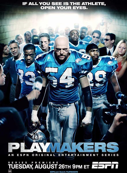 In 2003, ESPN released it's first original drama, which portrayed the gritty reality of locker room football, going a little too far behind the scenes for the National Football League and some professional players. When the NFL expressed their disapproval of what they claimed was unfair representation, ESPN, good partners in business they are, cancelled the show to much disappointment by fans. We're left with eleven superb episodes of one of the best and most provocative sports shows ever.