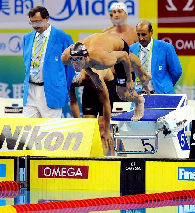 Michael Phelps got off to a fast start in the 4x100m freestyle relay. The Olympic legend and his teammates finished behind Australia and France, a surprising outcome as the Australians were heavy underdogs and the U.S. was the favorite.