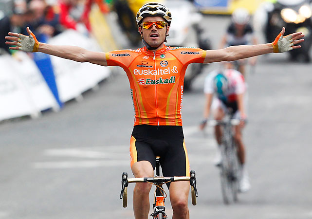 Stage 12 began the riders' ascent into the Pyrenees. Spain's Samuel Sanchez, the Olympic road race champion, added his first career Tour stage win to his five career Vuelta stages.