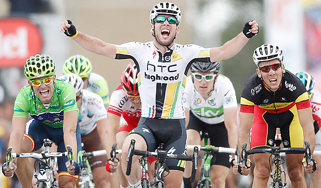 It was a day for the sprinters, and that usually means success for Mark Cavendish. The Manx Missile notched his 16th career Tour de France stage win.