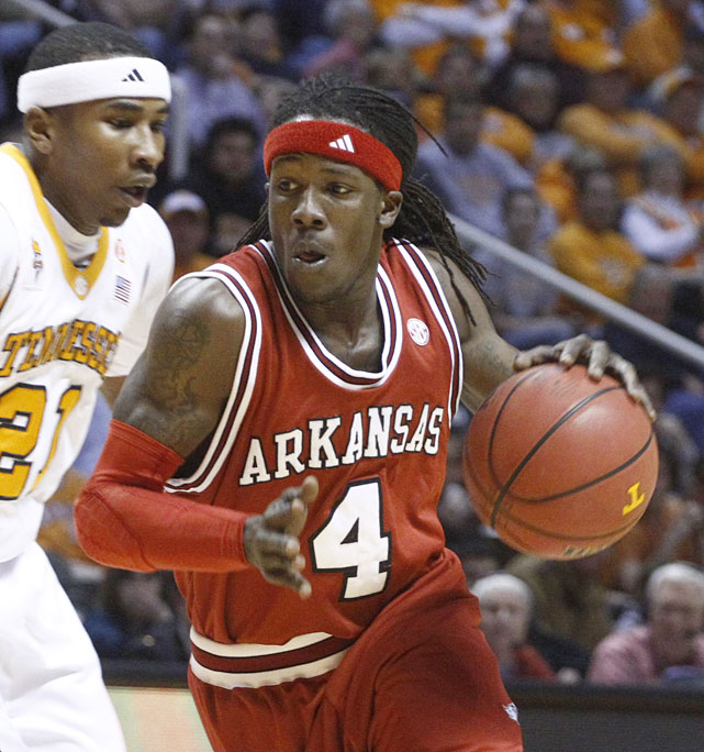 The Arkansas point guard quickly deleted this crass comment after posting it, but it was already too late:   Im gettin it at workouts like a dude who doesnt understand the word no from a drunk girl lol   The tweet was particularly insensitive given the climate on campus: Just weeks earlier, three of Fortson's teammates were accused of an alleged rape at a fraternity house.