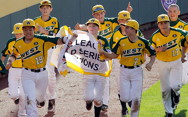 Huntington Beach, Calif., returned the Little League World Series title to the United States, taking the crown back from Japan. Nick Pratto singled in the winning run with two outs and the bases loaded in the bottom of sixth to secure a 2-1 victory over Hamamatsu City, Japan. It marked the sixth LLWS title in the last seven years for a U.S. team.
