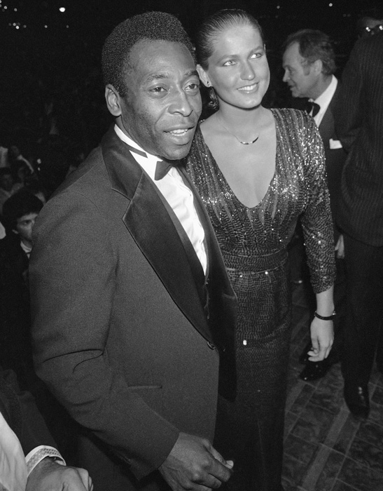 Pele was a legend on the field, but also made headlines during his five-year relationship with Brazilian actress and singer Xuxa in the mid-80s.