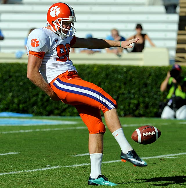 The former second-ranked punting prospect lived up to hype by averaging 42.8 yards per punt last season, tops among ACC underclassmen.