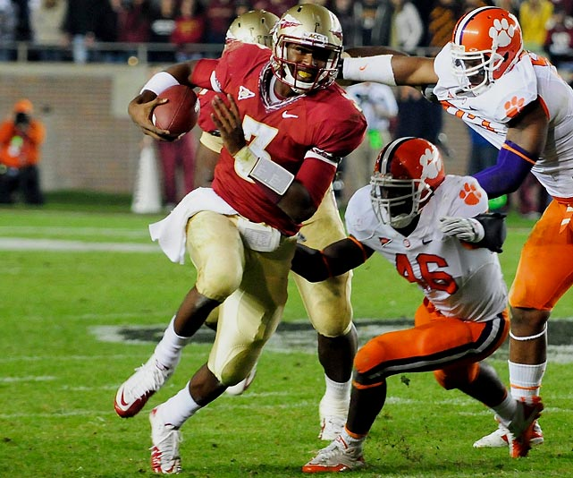 Despite bidding his time behind starter Christian Ponder, Manuel led Florida State to back-to-back bowl victories in 2009 and 2010. He threw for 861 yards and four touchdowns in limited playing time last year and takes over a Seminoles team that should contend for the ACC title.