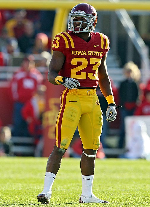 The Cyclones count on Johnson, a starter since his freshman season, to cover some of the nation's top receivers. He has five career picks and 18 pass breakups.