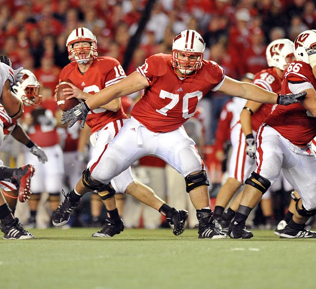 The 6-4, 317-pound Zeitler is the elder statesmen of the Badgers' perennially stout offensive line. He has started 22 games over the past two seasons.