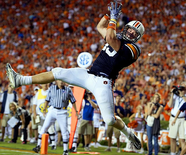 The 6-4, 253-pounder is a touchdown maker: He's already just two shy of the Auburn record for TDs by a tight end (seven). No wonder his role is expected to expand this season.