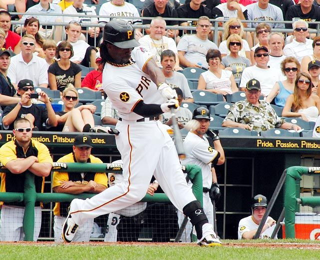 First-year Pirates manager Clint Hurdle sent a message to his team and its young star when he benched outfielder Andrew McCutchen for one game for not running out a dropped third strike on May 11. At the time McCutchen was hitting just .239, but he hit .337 the rest of the first half, earning his first All-Star game selection and carrying the woebegone Pirates into contenders for a brief time.