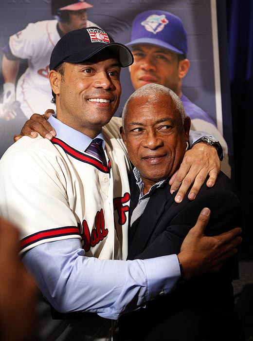 The election of Bert Blyleven to the Hall of Fame was controversial but there was no such discussion about Roberto Alomar, the 12-time All-Star who got 90 percent of the vote to earn election on his second year of eligibility. Alomar was enshrined as a Toronto Blue Jay, making him the first player to represent that franchise in Cooperstown.