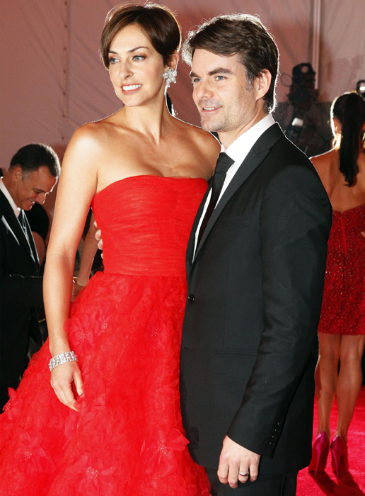 Gordon and his wife, Ingrid Vandebosch, make an appearance at the Metropolitan Museum of Art's Costume Institute Gala in 2009.