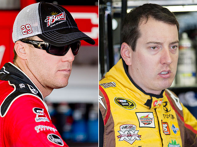 Busch and Harvick are familiar with the feud scene, and the two got into it after Busch spun Harvick out at Darlington on May 8. The incident so infuriated Harvick that he went up to Busch after the race and attempted to physically assault him.