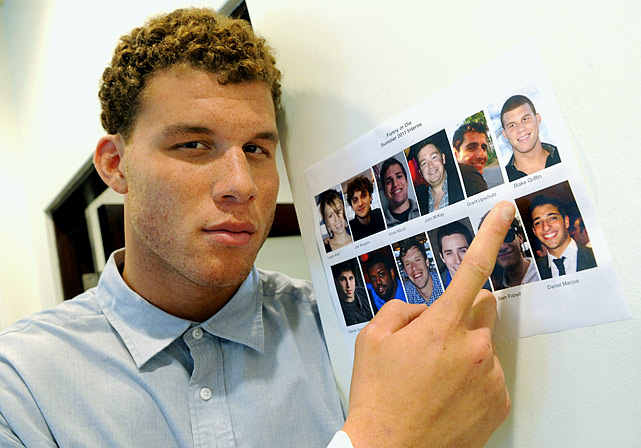 "Rookie of the Year Blake Griffin interned with Funny Or Die, the comedy website co-founded by Will Ferrell. Griffin counts ""Old School,"" ''Wedding Crashers"" and ""Anchorman: The Legend of Ron Burgundy"" among his favorite movies."