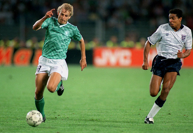 Klinsmann scored 11 goals in three World Cups (1990, 1994, 1998) for Germany.