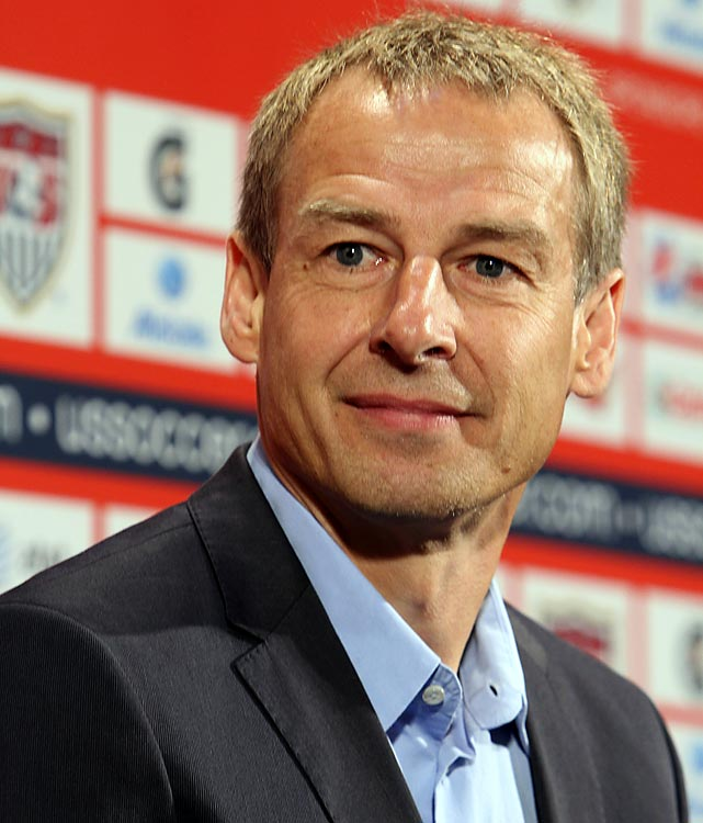 Last Friday Jurgen Klinsmann was named the head coach of the U.S. men's national team, making him the 35th coach in the history of the program. Klinsmann had a storied playing career prior to his managerial stint, including starring for the German national team.  Here, we take a look at Klinsmann over the years: