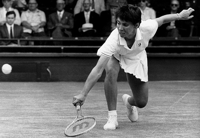 A women's tennis pioneer, the diminutive Casals was a two-time U.S. Open finalist (in 1970 and '71), a four-time Wimbledon semifinalist and a one-time Australian Open semifinalist. In those two U.S. Open finals, the second-seeded Casals lost to the top seed each time (Margaret Court and Billie Jean King).