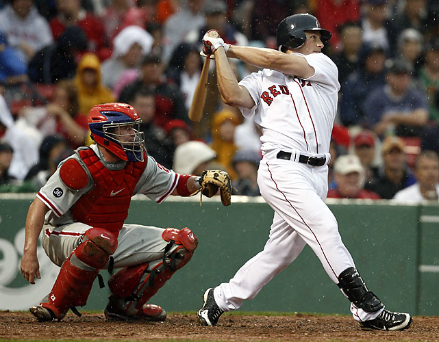 How many have hit grand slams on the first pitch they've seen in the big leagues? Two -- and Nava did it against the Phillies. The other was Kevin Kouzmanoff in 2006. Two others Bill Duggleby (1898) and Jeremy Hermida (2005) have slams in their first at-bats.