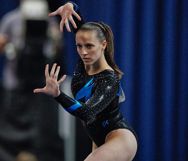 Memmel is another 2008 Olympian on the comeback trail. The 2005 world all-around champion's career has been beset by injuries at the worst times, but she can still be world class, particularly on uneven bars.