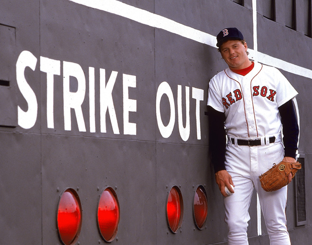 The Red Sox were led by 23-year-old Roger Clemens. The Texas native compiled a 24-4 record with a 2.48 ERA, which earned him both the Cy Young Award and American League MVP honors. He also became the first pitcher to strike out 20 batters in a game, in an early-season matchup against Seattle.