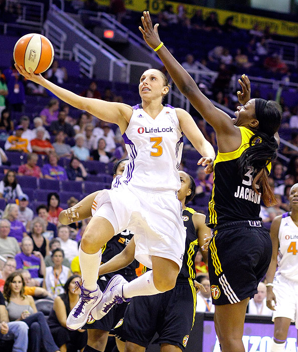 Phoenix has been the highest scoring team in the WNBA every season since 2006, and many of those points this year came from league-high scorer Diana Taurasi. She just packaged her fourth consecutive scoring title (fifth overall), averaging 21.6 points per game. The Mercury play Seattle in the first round of the playoffs, keeping their strong rivalry alive.