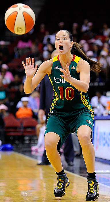 Veteran guard Sue Bird has nicely filled in for reigning MVP Lauren Jackson, who was out for 20 games after suffering a hip injury. Even though she hasn't returned to full form yet, the Storm still have the upper hand against the Mercury, their first playoff opponent.