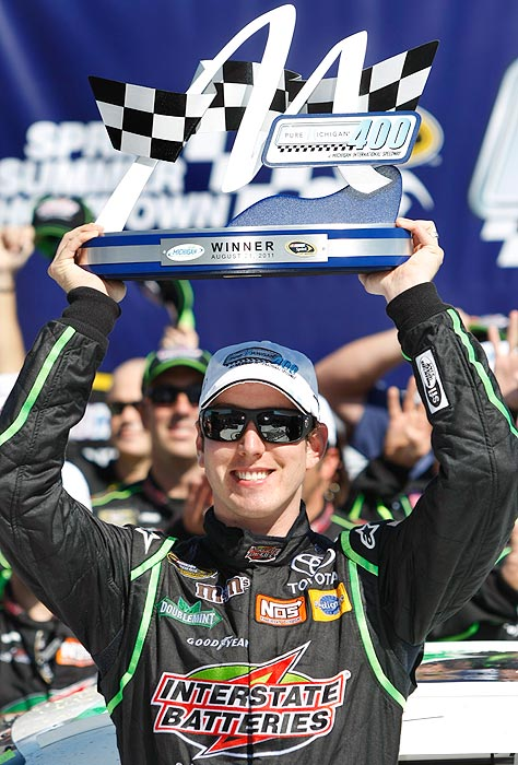 Kyle Busch, who's tied for the Sprint Cup lead with four regular-season victories, will begin the Chase as the top seed. It's Busch's fifth Chase appearance, and he's hoping the top seed can propel him to his first Cup title.