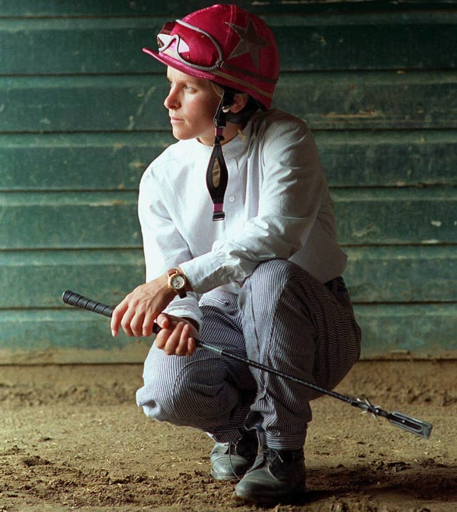 The first female jockey to be elected to horse racing's hall of fame suffered depression and post-traumatic stress disorder in 1996 after breaking her hands in an accident during a race at Florida's Gulfstream Park. ''Horses felt my anxiety, they got weird, they reared up,'' she told  The New York Times  in 2000. ''I had been given a magical talent to positive-image a loser right into the winner's circle. And then suddenly it was all gone, and I was exhausted.'' Krone fought suicidal urges, anxiety and migraines as well as eating and sleep disorders before seeking treatment that was successful.